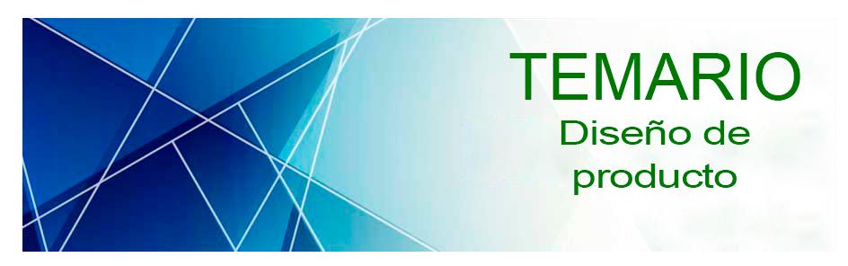 Oposiciones 2018 - Temario Diseño de producto e8ee274c0c41d
