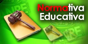 NORMATIVA EDUCATIVA